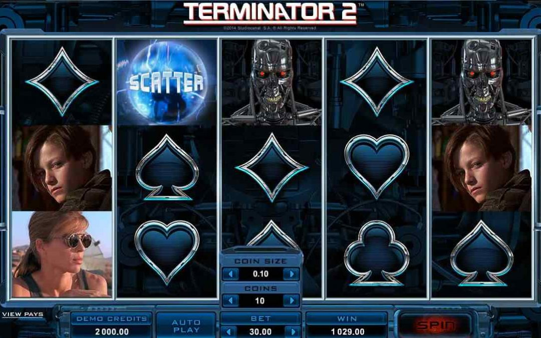 Terminator 2 – Combo Of Movies And Gambling