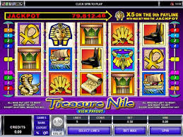 Treasure Nile Online Pokie Game